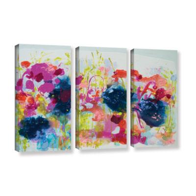 Brushstone July Heat 3-pc. Gallery Wrapped CanvasWall Art