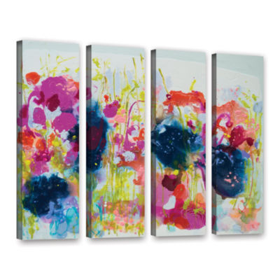 Brushstone July Heat 4-pc. Gallery Wrapped CanvasWall Art