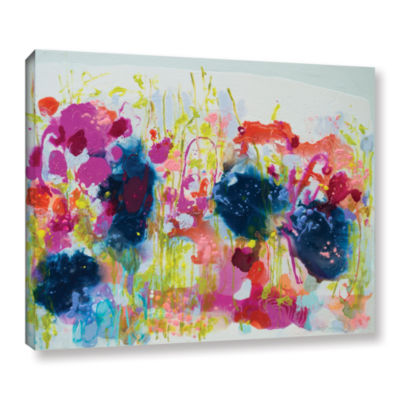 Brushstone July Heat Gallery Wrapped Canvas Wall Art