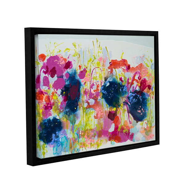 Brushstone July Heat Gallery Wrapped Floater-Framed Canvas Wall Art
