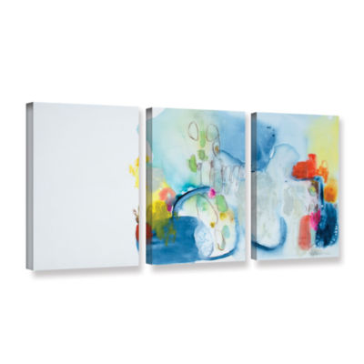 Brushstone Just Like That 3-pc. Gallery Wrapped Canvas Wall Art
