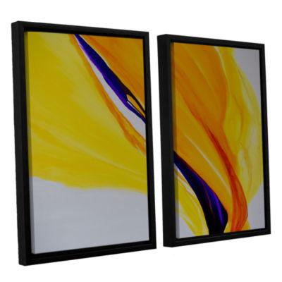Brushstone Sublime 2-pc. Floater Framed Canvas Wall Art