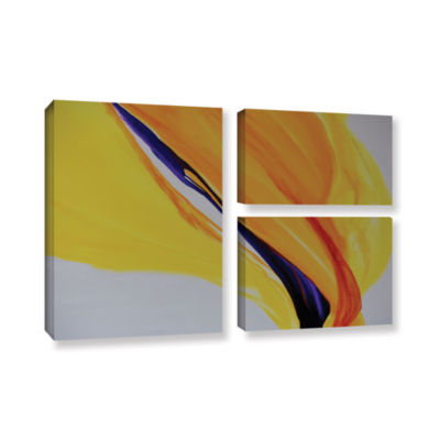 Brushstone Sublime 3-pc. Flag Gallery Wrapped Canvas Wall Art