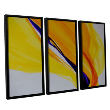 Brushstone Sublime 3-pc. Floater Framed Canvas Wall Art