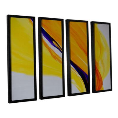 Brushstone Sublime 4-pc. Floater Framed Canvas Wall Art
