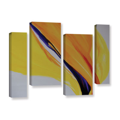 Brushstone Sublime 4-pc. Gallery Wrapped StaggeredCanvas Wall Art
