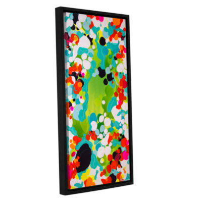 Brushstone Unbalanced Gallery Wrapped Floater-Framed Canvas Wall Art