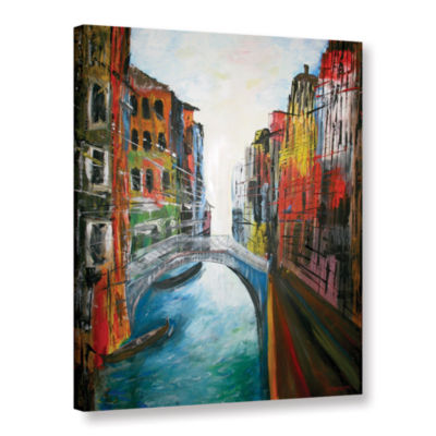 Brushstone Venice Grand Canal Gallery Wrapped Canvas Wall Art