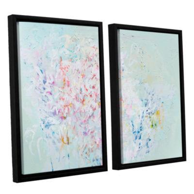 Brushstone Linger 2-pc. Floater Framed Canvas WallArt