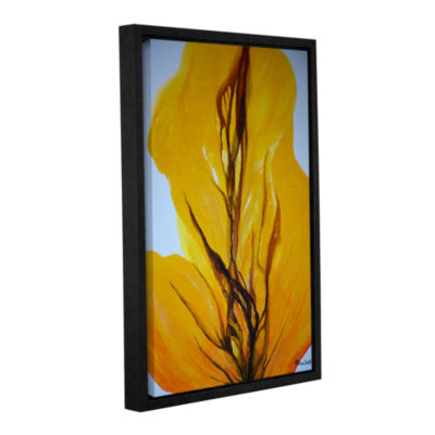 Brushstone When Autumn Leaves Fall Gallery WrappedFloater-Framed Canvas Wall Art