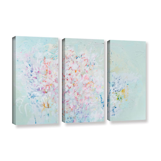 Brushstone Linger 3-pc. Gallery Wrapped Canvas Wall Art