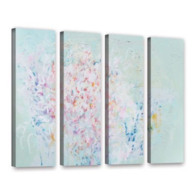 Brushstone Linger 4-pc. Gallery Wrapped Canvas Wall Art