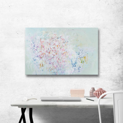 Brushstone Linger Gallery Wrapped Canvas Wall Art