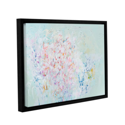 Brushstone Linger Gallery Wrapped Floater-Framed Canvas Wall Art