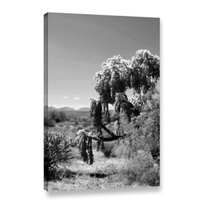Brushstone Tree Gallery Wrapped Canvas Wall Art