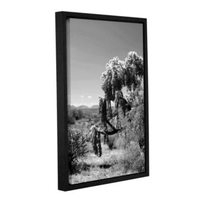 Brushstone Tree Gallery Wrapped Floater-Framed Canvas Wall Art