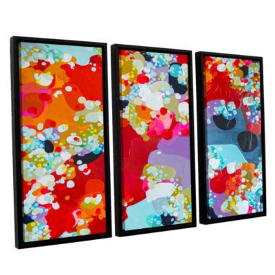 Brushstone Without Boundaries 3-pc. Floater FramedCanvas Wall Art