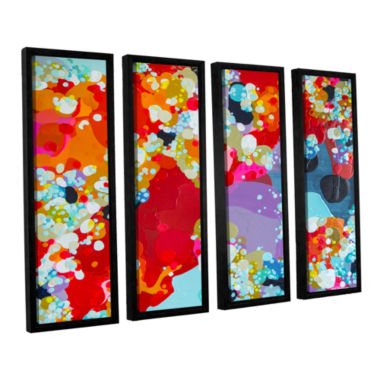 Brushstone Without Boundaries 4-pc. Floater FramedCanvas Wall Art