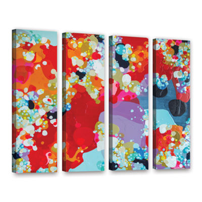 Brushstone Without Boundaries 4-pc. Gallery Wrapped Canvas Wall Art