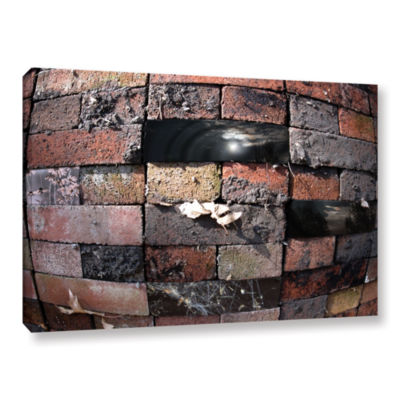 Brushstone Swollen Bricks Gallery Wrapped Canvas Wall Art