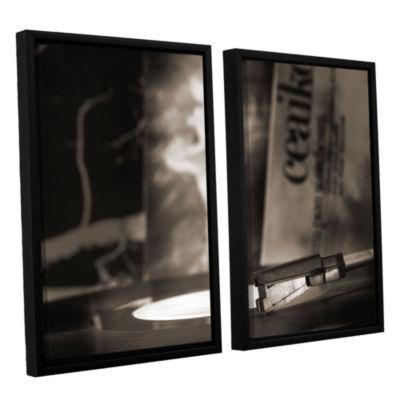 Brushstone The White Swan 2-pc. Floater Framed Canvas Wall Art