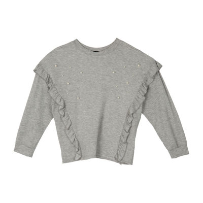 by&by girl Long Sleeve Sweatshirt - Big Kid Girls