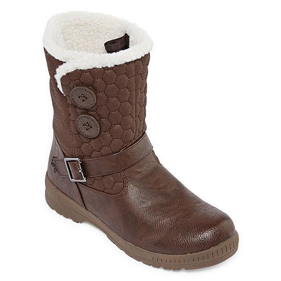 Totes Womens Jennifer2 Winter Waterproof Zip Boots