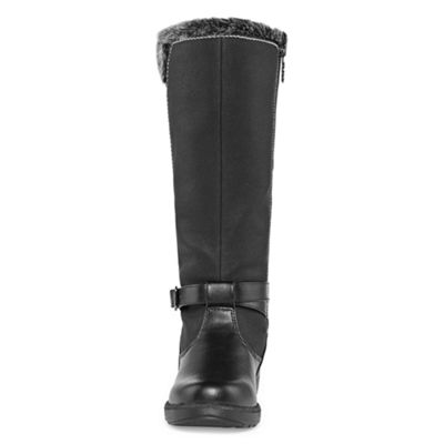 Totes Womens Shauna Wide Calf Winter Boots Waterproof Zip