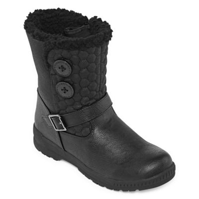 Totes Womens Jennifer2 Winter Waterproof Zip Boots