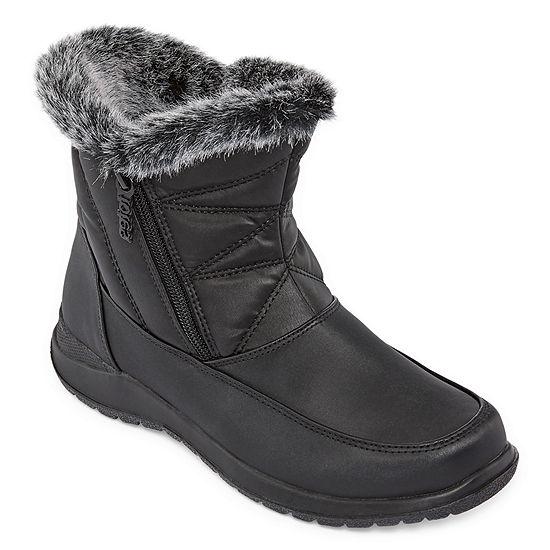 Totes Womens Bunny2 Winter Waterproof Zip Boots