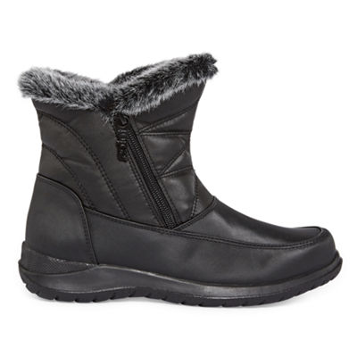 Totes Womens Bunny2 Winter Waterproof Zip Boots