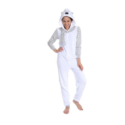 Polar Bear Long Sleeve Onesie Pajama