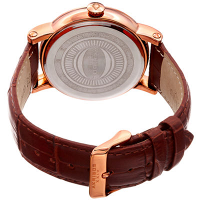 Akribos XXIV Mens Brown Bracelet Watch-A-1003rg