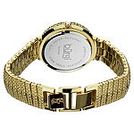 Burgi Womens Gold Tone Bracelet Watch-B-048yg