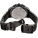 August Steiner Mens Black Stainless Steel Strap Watch-As-8229bk