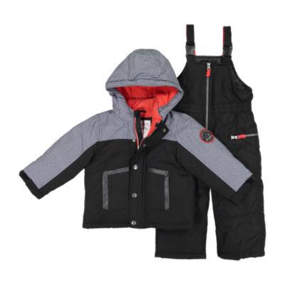 Carter's 2-Pc. Coat & Snowsuit - Toddler Boys