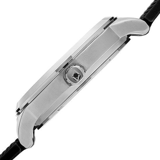 Akribos XXIV Mens Black Bracelet Watch-A-1007ssb