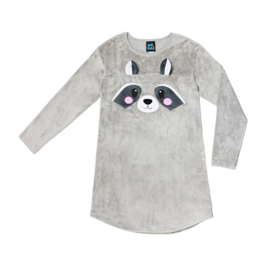 Jelli Fish Kids Dreamy Fleece Long Sleeve Nightshirt Girls