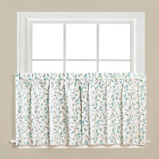 Gentle Wind Rod-Pocket Window Tiers
