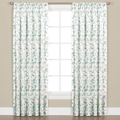 Gentle Wind Rod-Pocket Curtain Panel