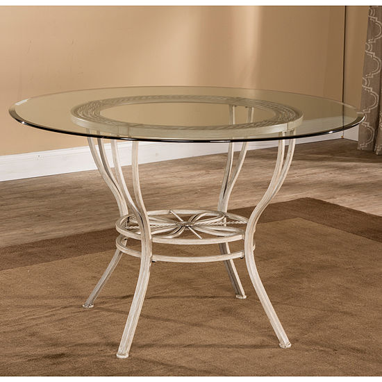 Hillsdale House Round Wood-Top Dining Table