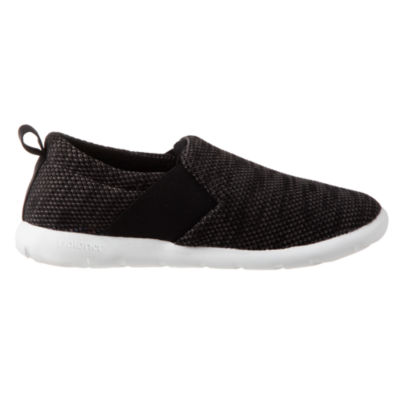 Zenz From Isotoner Wide Elastic Closed Back Slip-On Slippers