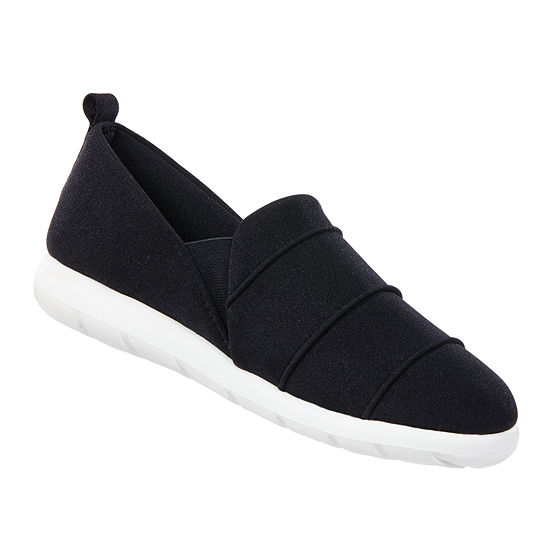 Zenz From Isotoner Pintuck Closed Back Womens Slip-On Slippers