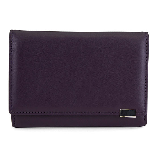 Mundi Amsterdam Leather RFID Blocking Indexer Wallet