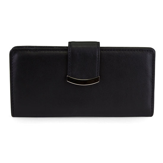 Mundi Slim Clutch Leather RFID Blocking Slim Fold Wallet