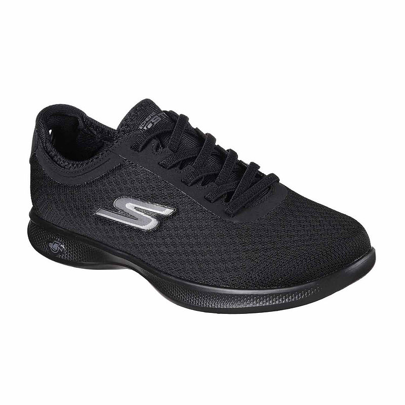 Skechers GO Step Lite Dashing Womens Sneakers, Size 6 1/2 Medium, Black