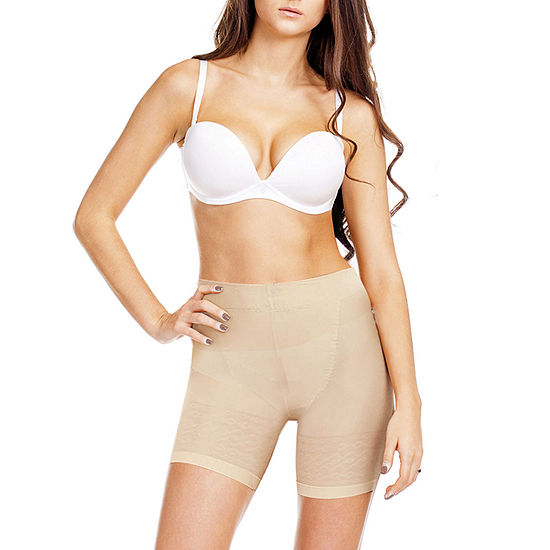 Flakisima Natural Bum Booster Extra Firm Control Thigh Slimmers - Flk078