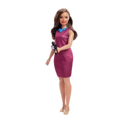 Barbie Career News Anchor