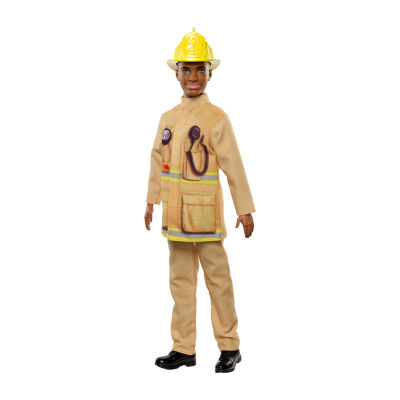 Barbie Ken Career Firefighter Doll