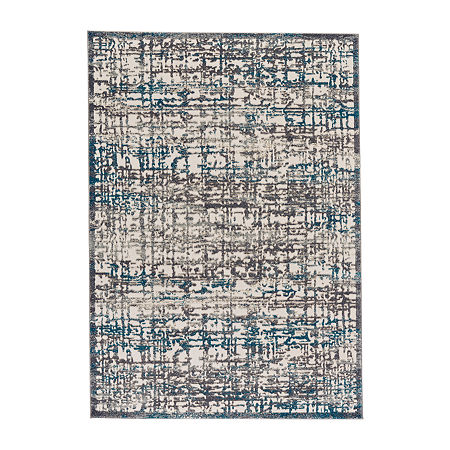 Weave And Wander Angel Rectangular Indoor Rugs, One Size , Gray Product Image